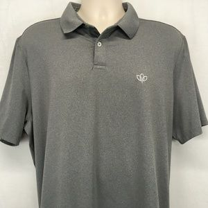RLX Ralph Lauren Mens XL Golf Polo Gray